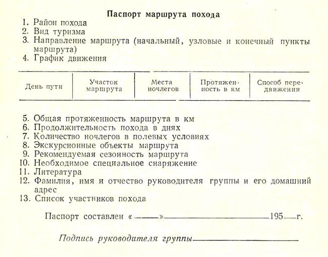 образцы отчетов на категорию